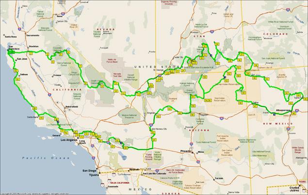 amerika nyugati part térkép Amerikai álom | motorostura.hu amerika nyugati part térkép