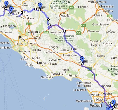 pompeii térkép Madrid – Otsuni 2/2 | motorostura.hu